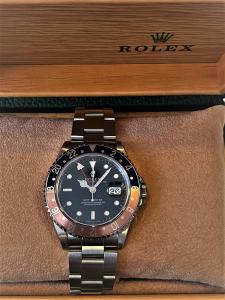 Orologio secondo polso Rolex Gmt Master