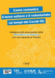 Come comunica il terzo settore e il volontariato (ai tempi del Covid-19)