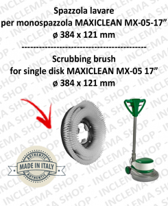 SPAZZOLA LAVARE PPL 0,6 per monospazzola MAXICLEAN MX-05 17