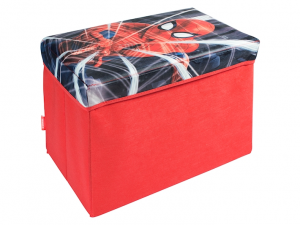 Bauletto scatola giochi Spiderman 49x31