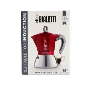 Bialetti caffettiera induzione 6 tazze rossa