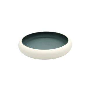 Mascagni Casa ciotola centrotavola ceramica bianca cm27