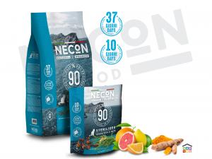 Necon white fish and rice sterilized per gatti 0.400/1.5 kg