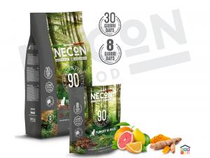 Necon turkey and rice adult per gatti 0.400/1.5 kg