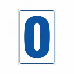 Cartello Numero 0