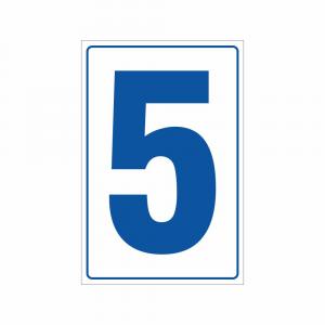 Cartello Numero 5