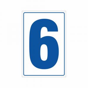 Cartello Numero 6