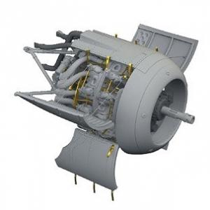 Fw190F-8 Engine