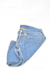 Jeans Woman Levis Red Lot.05f S03 Size 26