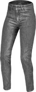 Jeans moto donna accorciati Macna Janice Grigio