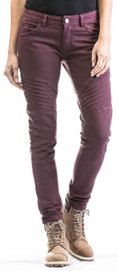 Jeans moto donna Ixon VICKY CE Bordeaux