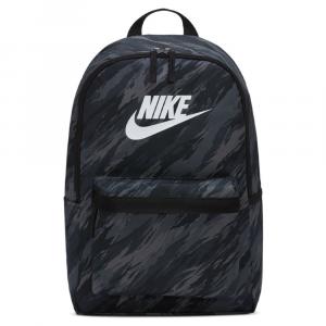 Nike Rucksack Heritage Zaino Nero/Bianco