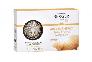 Diffusore per auto con fragranza Aroma Energy Maison Berger Paris
