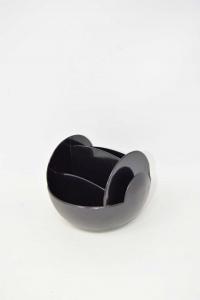 Holder Remote Controls Swiveling In Plastic Black Meliconi