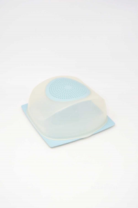 Container Per Cheese Tupperware Light Blue