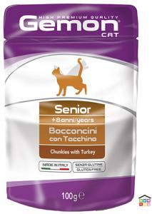 Gemon Bocconcini con Tacchino – Senior