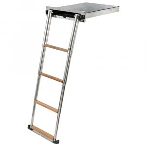 Foldaway ladder Luxury with push system
