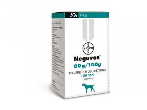 Antiparassitario Antipulci Pidocchi in Polvere  per Cani 75 g Bayer Neguvon