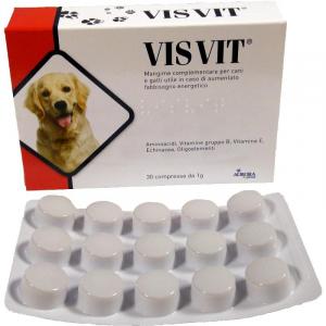 Visvit Integratore Energetico Vitaminico per Cani e Gatti 30 Compresse