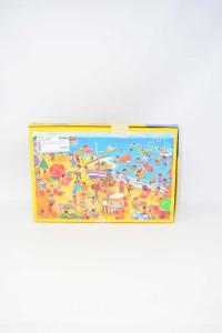 Puzzle Ravensburger 2x126 Pieces Sea / Mountain Art.6235895 39x24.5 Cm