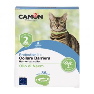 CAMON COLLARE BARRIERA OLIO DI NEEM PER GATTI - 35CM