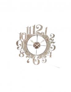 Orologio numeri in metallo