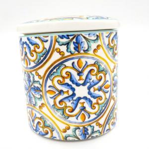 Barattolo porcellana Medicea h10 scatola regalo