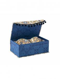 Brandani 2 tazze caffé medicea scatola regalo