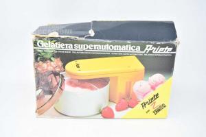 Gelatiera Ariete Superautomatica Bianca Funzionante Per 2 Persone