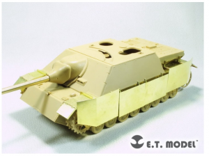 WWII German Jagdpanzer IV L/70(V) Schurzen