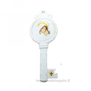 Magnete Chiave con Maternità in resina 4.5x9 cm - Bomboniera battesimo