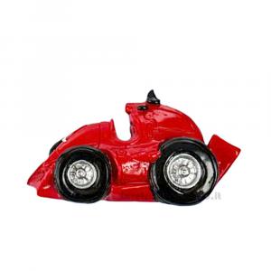 Magnete Formula Uno Ferrari rossa in resina 6.5x4 cm - Bomboniera comunione bimbo
