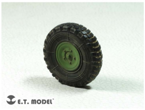 French VBL Armour Car Weighted Road Wheels