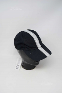 Cappello Frontino Uomo Estivo Bikkembergs 100% Cotone Nuovo