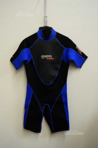 Wetsuit Surf Adult Man Mares Tropic 2.5 Mm Black And Blue Size 4 (l)