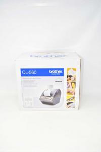 Etichettatrice From Negozio Brother Ql 560 Ccon Cables And Isrtruzioni
