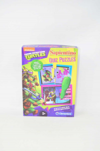 Gioco Sapientino Quiz Puzzles Turtles