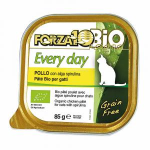 Patè per gatti al pollo con alga spirulina - everyday Forza10bio