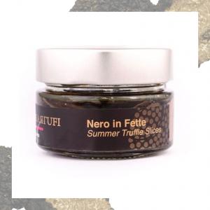 Nero in Fette - Tartufo Nero Estivo in Olio - 45/80g