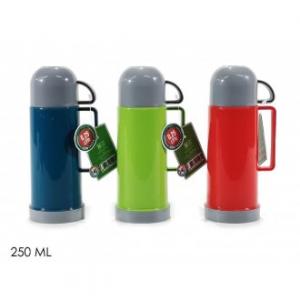 Thermos Per Bevande Calde 250 Ml Colori Assortiti Disponibile Con Tazza Tappo Utile Funzionale