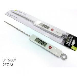 Termometro Digitale Per Alimenti 27 Cm Professionale Da 0 a 200 Gradi Celsius Utensili Cucina