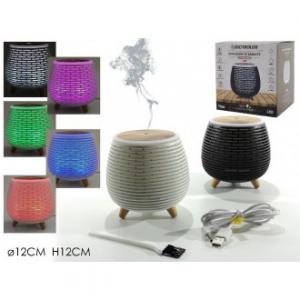 Diffusore Di Essenze Con Apertura USB Con Illuminazione Diverse Colorazione Profuma Ambiente