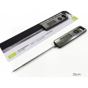 Termometro Digitale Per Alimenti Lungo 22 Cm Misurazione in Gradi Celsius e Fahrenheit Utensili Qualità e Stile