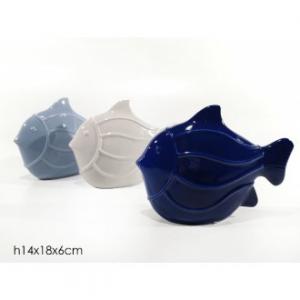 Pesce Decorativo Diversi Colori Disponibili In Ceramica Da Decorazione Arredo Casa