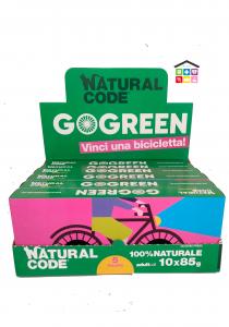 Natural code multipack 10pz GO GREEN