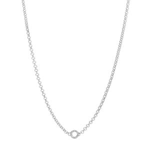 Collana donna Rosato rolò in argento 925 RZC003