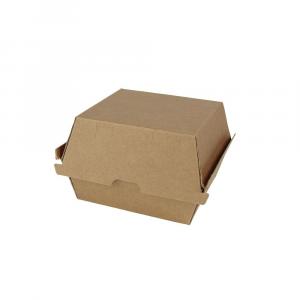 Contenitori cartoncino kraft take away Burger 450ml