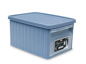 Scatola armadio 39x29x21 blu