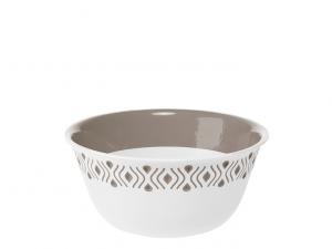 Stefanplast insalatiera Tosca cm19 bianco grigio
