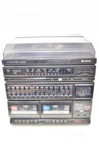 Stereo Samsung 10eq Control + Coppia Casse Ps55m ( Cassette Velocità Da Sistemare )